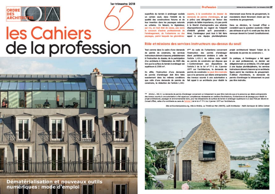 Le28 Architectes Paris